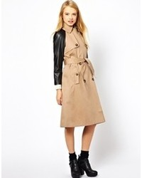 Trench brun clair Asos
