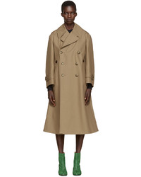 Trench brun clair Maison Margiela