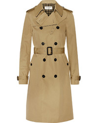 Trench brun clair Saint Laurent