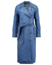 Trench en denim bleu Tommy Hilfiger