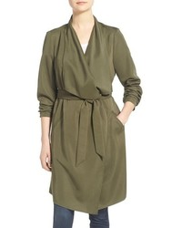 Trench léger olive