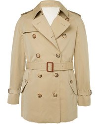 Trench marron clair Alexander McQueen