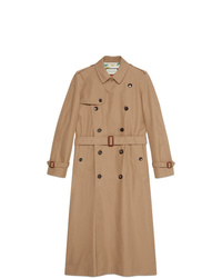 Trench brun clair Gucci