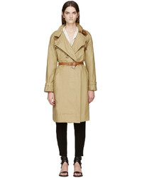 Trench marron clair Isabel Marant