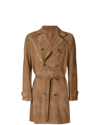 Trench marron clair Salvatore Santoro