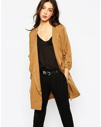 Trench marron clair Vero Moda