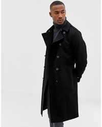 Trench noir ASOS DESIGN
