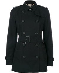 Trench noir Burberry