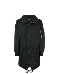 Trench noir DSQUARED2