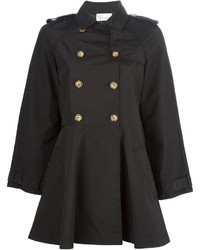 Trench noir RED Valentino