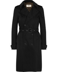 Trench noir Saint Laurent
