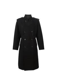 Trench noir Yohji Yamamoto Vintage