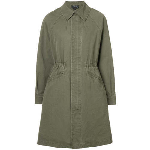 Trench olive A.P.C.