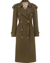 Trench olive Burberry