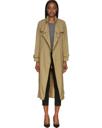 Trench olive Isabel Marant