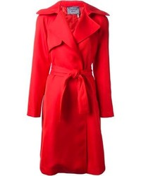 Trench rouge Lanvin