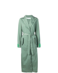 Trench vert menthe Off-White