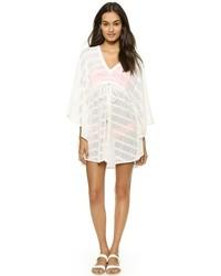 Tunique de plage en crochet blanche Melissa Odabash
