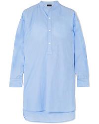 Tunique en chambray bleu clair Joseph