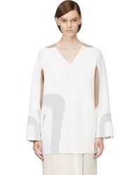 Tunique en laine blanche Marc Jacobs