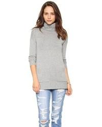 Tunique en laine grise Joie