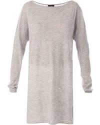 Tunique en laine grise Joseph