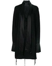 Tunique en soie noire Ann Demeulemeester