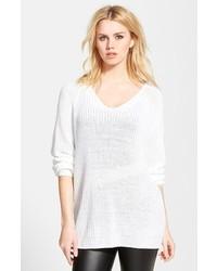 Tunique en tricot blanche