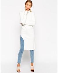 Tunique en tricot blanche Asos