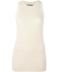 Tunique en tricot blanche Vince