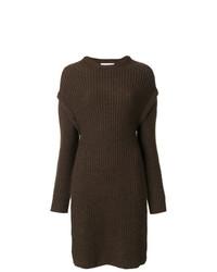 Tunique en tricot brune foncée JW Anderson