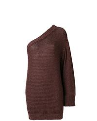 Tunique en tricot brune foncée Stella McCartney