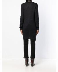 Tunique en tricot noire Alyx