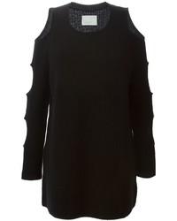 Tunique en tricot noire