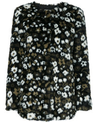 Veste à fleurs noire MICHAEL Michael Kors