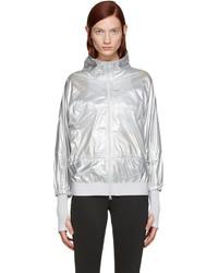 Veste argentée adidas by Stella McCartney