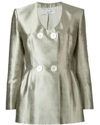 Veste argentée Christian Dior