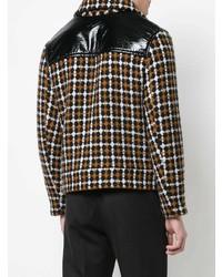 Veste-chemise à carreaux marron Cmmn Swdn