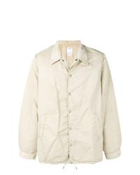 Veste-chemise beige