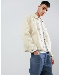 Veste-chemise beige ASOS DESIGN