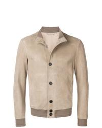 Veste-chemise beige Giorgio Armani