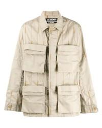 Veste-chemise beige Jacquemus