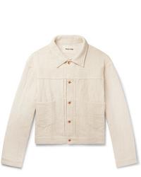 Veste-chemise beige Story Mfg.