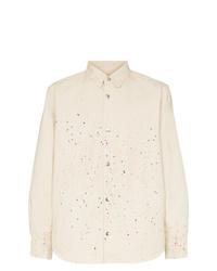 Veste-chemise beige Vyner Articles