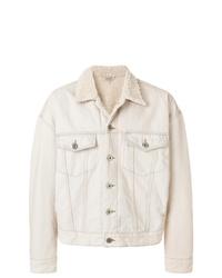 Veste-chemise beige Yeezy