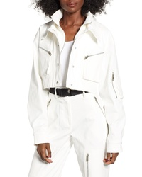 Veste-chemise blanche