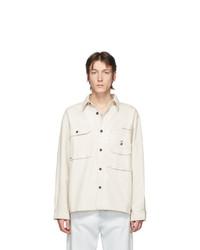 Veste-chemise blanche Acne Studios