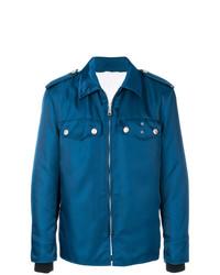 Veste-chemise bleu canard Calvin Klein 205W39nyc