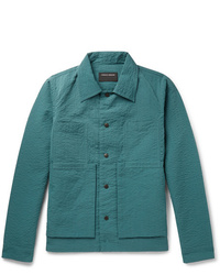 Veste-chemise bleu canard Craig Green