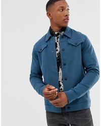 Veste-chemise bleu canard Jack & Jones